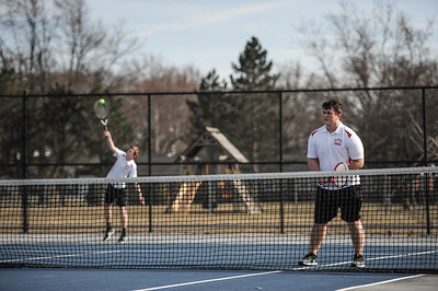 3-27-19 Bluffton HS Boys tennis vs Elida (Eden Nygaard and Grant Klinger 10th grade)-16
