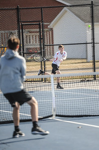 3-27-19 Bluffton HS Boys tennis vs Elida (Eden Nygaard and Grant Klinger 10th grade)-9