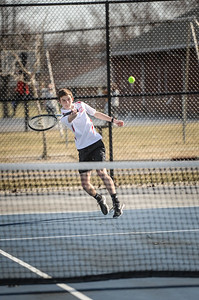 3-27-19 Bluffton HS Boys tennis vs Elida (Eden Nygaard and Grant Klinger 10th grade)-10