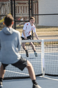 3-27-19 Bluffton HS Boys tennis vs Elida (Eden Nygaard and Grant Klinger 10th grade)-4