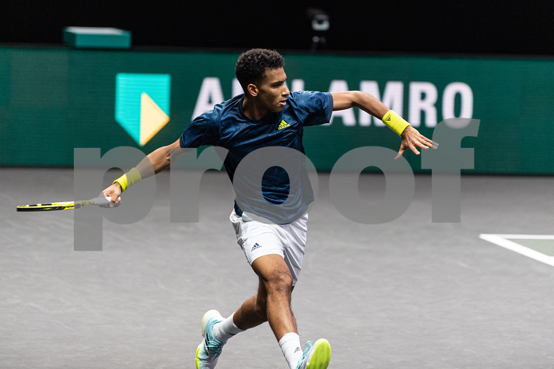 F. Auger-Aliassime (CAN) 48th World Tennis Tournament Rotterdam