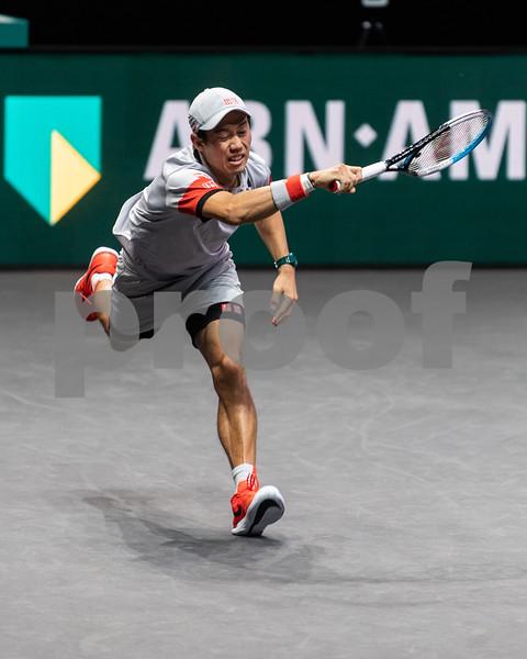 K. Nishikori (JPN) 48th World Tennis Tournament Rotterdam