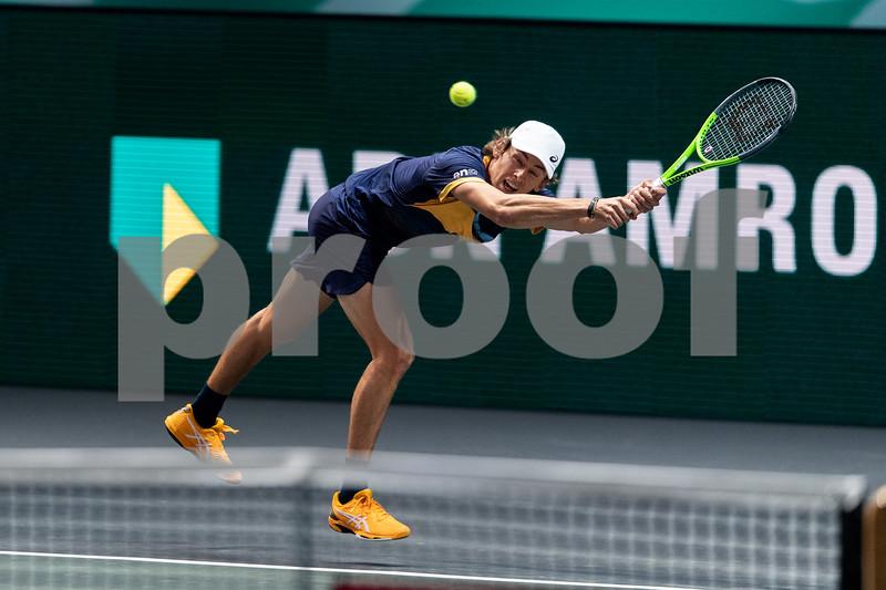 A. de Minaur (AUS) 48th World Tennis Tournament Rotterdam