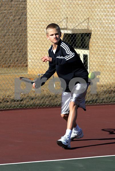 2 23 09 CHS Boys Tennis Action 004
