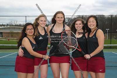 Dexter Women's Tennis Team Photos 2017