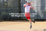 06 April 2010:  Davidson visits Elon in men's and women's tennis at the  Powell Tennis Center in Elon, North Carolina.