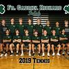 2019 FGR Mens Tennis Team 8x10