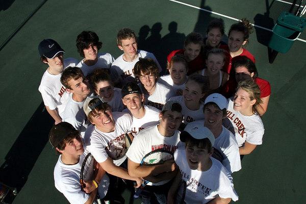 Feb 22, '07: Mill Creek High Tennis Team Spring '07