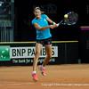 Nationala de tenis a Romaniei a efectuat primele antrenamente la Cluj-Napoca inainte de meciurile din Fed Cup, Romania vs. Germania