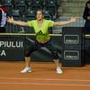 Nationala de tenis a Germaniei a efectuat primele antrenamente la Cluj-Napoca inainte de meciurile din Fed Cup, Romania vs. Germania