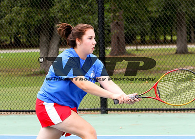 Holly Hill Girls Tennis 9-19-2012