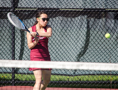 LHS v. FHS girls tennis 4-27-16