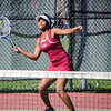 Fitchburg's Anji Novas during the match against Leominster High on Wednesday afternoon. SENTINEL & ENTERPRISE / Ashley Green