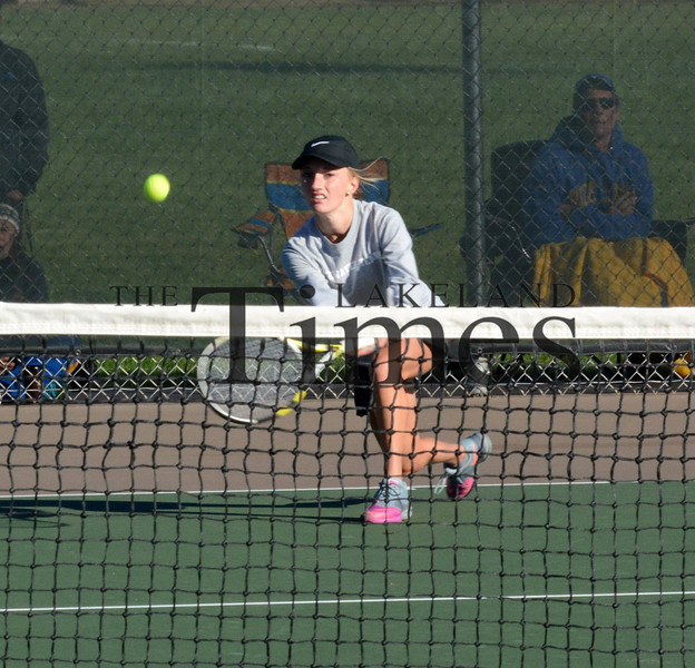 10-7-15 Tennis Sectionals at Lakeland
