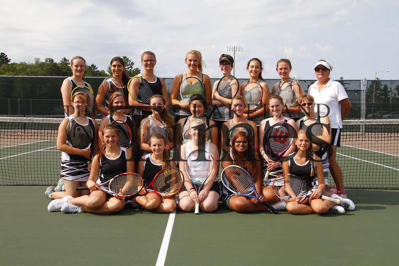 Lakeland Tennis team photo