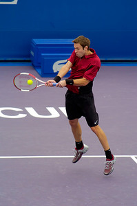 Masters Cup Westside Tennis Club, Houston TX,   November 2004  Knowles & Nestor vs. Malisse & Rochus