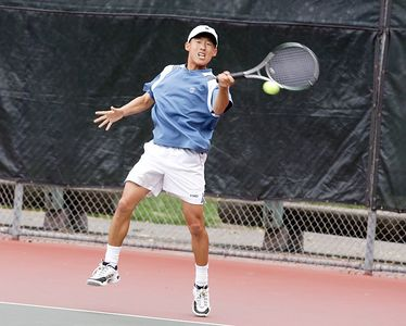 Forehand from the front
