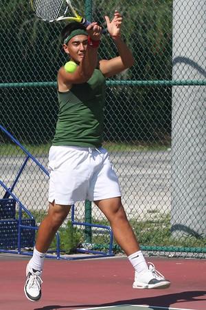 Nease Boys' Regional Tennis Champs vs Gainesville