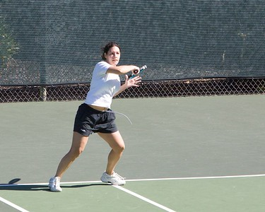 Hey, let's check out some forehands.  Bethany has nice form...