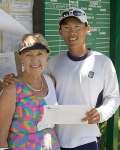 US Open Juniors Winners Lucy and Mike
