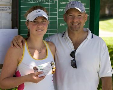 US Open Winners Jennifer and Allen