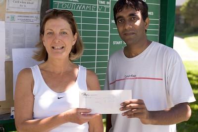 Wimbledon Juniors Winners Chany and Subhachandra
