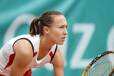 Anne Kremer (LUX) vs Kathrin Woerle (GER) Kathrin Woerle