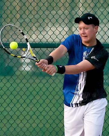 Ponte Vedra Sharks boys Tennis vs Bishop Kenny 2-23-12