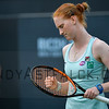 Alison van Uytvanck from Belgium celebrates a point against her opponent  Belinda Bencic from Switzerland on Tuesday 7th of June 2016 at the Ricoh Open Grass Court Championships at the Autotron in Rosmalen in the Netherlands
