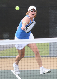 Singles Tennis, Mary Sterrenburg from Maddison GA, Sat at Etowah Park