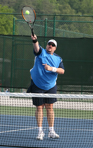 Doubles Tennis, Jay Patouillet from Bridgemill, Darlington courts Sat
