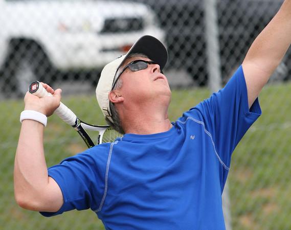 Singles Tennis, Matt Freeman from Peachtree City, Sat at Etowah Park