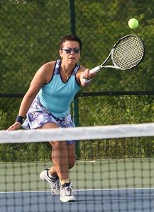 Singles Tennis, Doris Morris from Cherekee Co