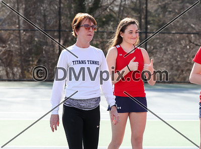 TC Williams @ Yorktown Girls Tennis (14 Mar 2019)