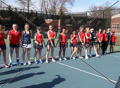 TC Williams @ Yorktown Girls Tennis (14 Mar 2019)