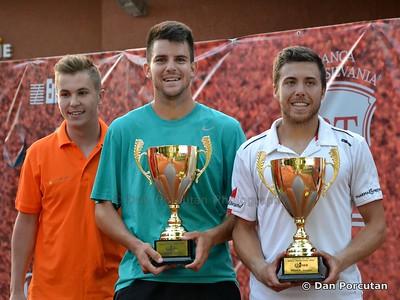 ITF Tennis - Pro Circuit - Romania F5 Futures - Doubles final at Banca Transilvania Open 2015