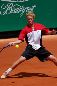 US Clay Court Tournament Westside Tennis Club, Houston TX,   April 2004  Tommy Hass (GER) vs. Dmitry Tursunov (RUS)