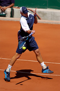US Clay Court Tournament Westside Tennis Club, Houston TX,   April 2005  Andy Roddick (USA) vs. Jurgen Melzer (AUT)