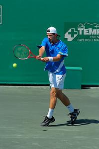 US Clay Court Westside Tennis Club, Houston TX,   April 2007  J. Melzer (AUT) vs. V. Hanescu (ROU)