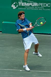 US Clay Court Westside Tennis Club, Houston TX,   April 2007  Fish vs. Vassallo Arguello