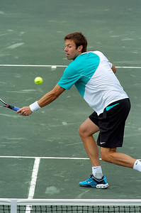 US Clay Court Westside Tennis Club, Houston TX,   April 2007  A. Peya (AUT) & B. Phau (GER) vs. M. Knowles (BAH) & D. Nestor (CAN)