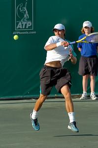 US Clay Court Westside Tennis Club, Houston TX,   April 2007  J. Blake (USA) vs. A. Kuznetsov (USA)