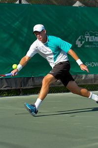 US Clay Court Westside Tennis Club, Houston TX,   April 2007  M. Knowles (BAH) & D. Nestor (CAN) vs. A. Delic (RSA) & R. Schuettler (GER)
