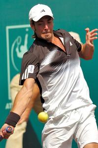 US Clay Court River Oaks Tennis Club, Houston TX,   April 2008  Nicolas Massu vs. Sam Querry