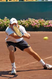 US Clay Court River Oaks Tennis Club, Houston TX,   April 2008  Ryan Harrision & Kei Nishikori vs. Hugo Armando & Wayne Odesnic