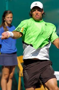 US Clay Court River Oaks Tennis Club, Houston TX,   April 2008  Marcel Granollers-Pujol vs. Marcos Daniel
