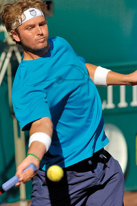 US Clay Court River Oaks Tennis Club, Houston TX,   April 2008  Oscar Hernandez vs. Mardy Fish