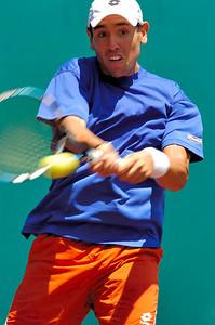 US Clay Court River Oaks Tennis Club, Houston TX,   April 2008  Wayne Odesnik vs. Sergio Roitman