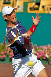 US Clay Court River Oaks Tennis Club, Houston TX,   April 2008  James Blake vs. Oscar Hernandez