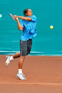 US Clay Court River Oaks Tennis Club, Houston TX,   April 2009  Bjorn Phau vs. Scoville Jenkins